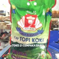 Beras Cap Topi Koki Setra Ramos 5KG | FULL Asli Slyp Putih 5 KG Murah