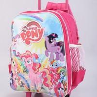 Jual Tas troli trolly troly trolley troley anak sekolah Little Pony CJ 783 Murah