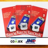 Micro SD SanDisk 16GB - Memory Card 16 GB - MicroSD SanDisk - MMC