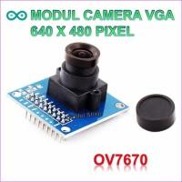 Module Camera OV7670 CMOS VGA for Arduino