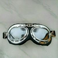 Goggle / Goggles / Google / Googles / Kacamata Motor Retro Classic