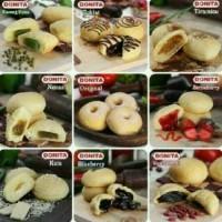 Jual donat donita / donat kentang / donat frozen / donat lembut halal Murah