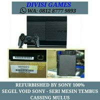 PS3 Super Slim 500gb OFW REFURBISHED BY SONY