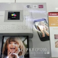Printer Canon Selphy CP 1200 CP1200 Wifi + Ink Paper RP108 RP 108