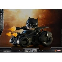 PO Hot Toys Justice League Batman & Bat Mobile Cosbaby Batmobile HT JL