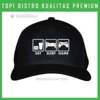 Topi Games 03 Trucker Baseball Snapback III62 Distro