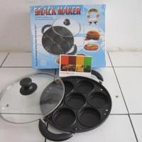 Wajan cetakan martabak mini anti lengket 7 lubang snack maker MURAH