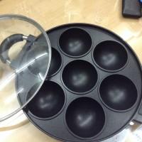 wajan/teflon cetakan martabak mini 7 lubang anti lengket- Snack Maker