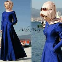 Baju pakaian Wanita Muslim Fashion Aida Maxi Benhur