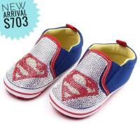 PW53 - prewalker superman blink baby shoes sepatu anak bayi cowok boy