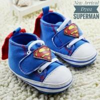 PW54 - prewalker superman sayap baby shoes sepatu anak bayi laki cowok