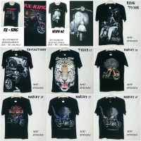 Jual GROSIR TSHIRT KAOS 3D DISTRO | 3D ANIMAL | 3D FULL PRINT Murah