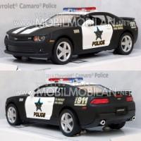 Kinsmart Chevrolet Camaro 2014 (Police) Diecast Miniatur Mobil Mainan
