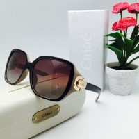 Jual Kacamata Hitam Chloe 2174 Polarized Kotak Sunglasses Wanita Murah
