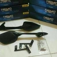 Kaca Spion Carbon R25 R3 + Bracket Panjang Nemo 1001 PNP Yamaha Nmax