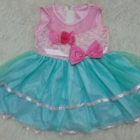 TERLARIS Baju bayi perempuan gaun pesta anak bayi dress bayi pita