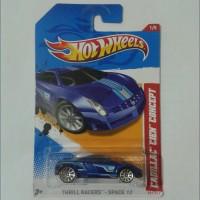 Hot Wheels Hotwheels Cadillac Cien Concept Blue Biru 2012 Thrill Race