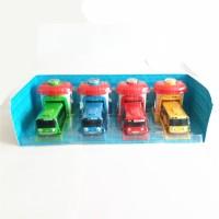 Mainan bus Tayo 9cm pullback + Garasi
