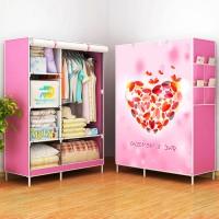 Jual Hotlist kekinian 07 HEART  Multifunction Wardrobe with cover lemari Murah