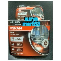 lampu bohlam mobil Osram NBR / NBU / NIGHT BREAKER / NIGHBREAKER H4