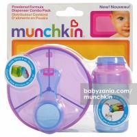 Munchkin Powdered Formula Dispenser Combo Pack Blue Pink T2909