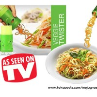 Jual Unik Veggie Twister - Alat Pembuat Garnish Spiral Berkualitas Murah