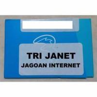 Kartu Perdana Tri Janet (Jagoan Internet)