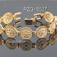 Gelang bunga emas PZG15007