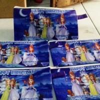 Jual tas souvenir tempat Pensil Princess sofia Murah