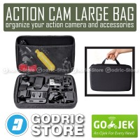 Action Cam Large Size Bag/Tas/Case for Xiaomi Yi, GoPro & BRICA B-PRO