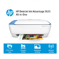 Printer HP Deskjet Ink Advantage 3635 All-In-One Wireless