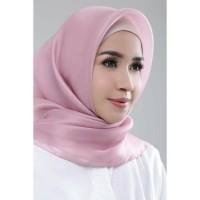 Jual Segi Empat Organza/Organdi Silk Premium Square Hijab Murah