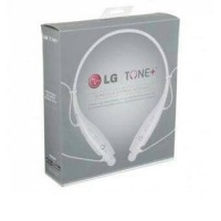 PROMO LG Tone Bluetooth Stereo Headset HBS - 730 (White) - Original LG