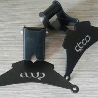 BRAKET GPS/HP YAMAHA XMAX 250 ( Tebal 3mm dan Cat Powder Coating )