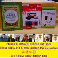 Flashdisk ceramah sunnah mp3