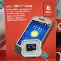 kartu  memori memory card mmc hp sandisk microsd 8gb micro sd 8