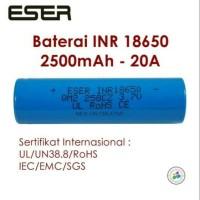 Jual Batere / Baterai / Battery Vape Eser 18650 Original Murah