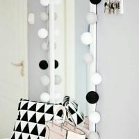 Jual cotton ball light(lampion mini gantung) Murah