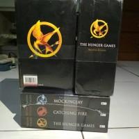 Jual Novel The Hunger Games 3 Series Bahasa Inggris Murah