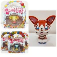 zoobles action figure mainan sega toys lucu bisa berubah jadi bola