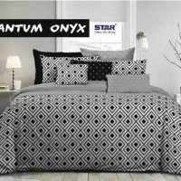 bellyna bedcover set sprei quantum onyx star uk 120x200