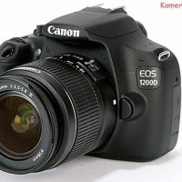 CANON EOS 1200 D LENSA 18 - 55 MM + MEMORY 16 GB + TAS CAMERA