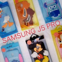 Case Jelly Character Timbul Glosy Samsung J 5 Pro