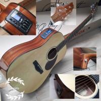 Gitar akustik samick gd303 original dengan aw5