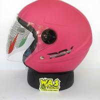 helm rsv super color pink doff not kyt ink agv kbc nhk