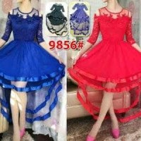 Vc-9856 dress ekor imp bgus