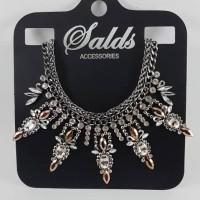 Kalung aksesoris statement necklace branded import zara murah 284