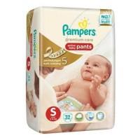 Jual Pampers Premium Care Pants S32/M30/L24/XL21/XXL17 Murah