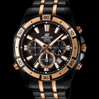 Casio edifice 534 black rosegold