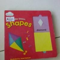 Harga buku anak import little slidder shape | antitipu.com